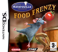 Ratatouille Food Frenzy Nintendo DS