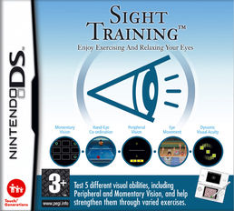 Sight Training (Flash Focus) Nintendo DS