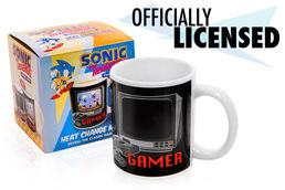 Sonic The Hedgehog Heat Change 300ml Mug