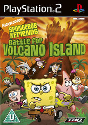 Spongebob and Friends: Battle for Volcano Island PS2