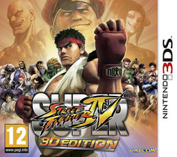 Super Street Fighter IV: 3D Edition 3DS