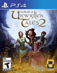 Book of Unwritten Tales 2 PS4