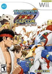 Tatsunoko Vs Capcom: Ultimate All-Stars Wii
