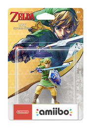 amiibo The Legend of Zelda Link Skyward Sword hahmo