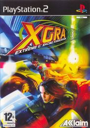 XGRA Extreme G Racing Association PS2