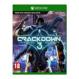 Crackdown 3 Xbox One kansikuva