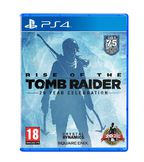Rise Of The Tomb Raider: 20 Year Celebration PS4 kansikuva