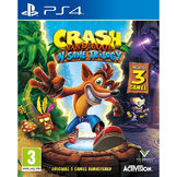 PS4 Crash Bandicoot N Sane Trilogy kansikuva