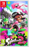 Splatoon 2 Switch kansikuva