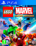 Lego Marvel Super Heroes PS4 kansikuva