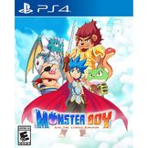 Monster Boy And The Cursed Kingdom PS4 kansikuva