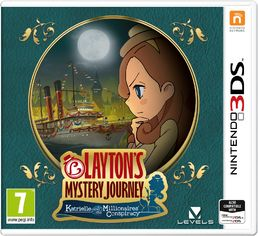 Layton´s Mystery Journey: Katrielle and the Millionaires Conspiracy 3DS