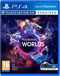 Playstation VR Worlds PS4 kansikuva
