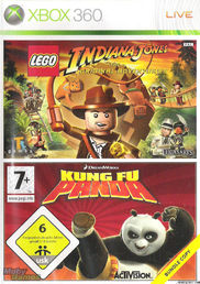 Kung Fu Panda & Indiana Jones Xbox 360
