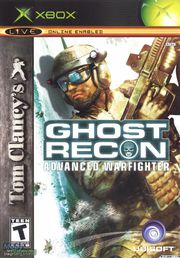 Ghost Recon Advanced Warfighter Xbox (käytetty)