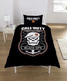 Call of Duty Black Ops Emblem Single Duvet pussilakanasetti
