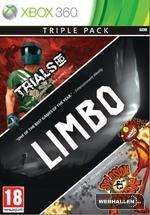 3 Pack Limbo, Trials HD, Splosion Xbox 360