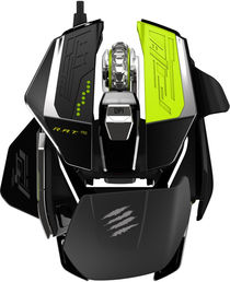 Mad Catz R.A.T.PRO X Gaming Mouse - Black/Green