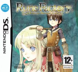 Rune Factory: Fantasy Harvest Moon DS kansikuva