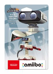 amiibo Super Smash Bros. R.O.B. Famicom Colours hahmo