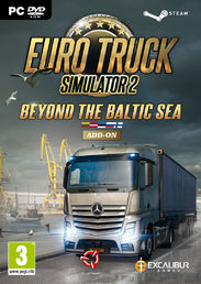 Euro Truck Simulator 2 Beyond the Baltic Sea Add-on PC