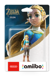 amiibo Breath of the Wild Collection Zelda Fieldwork hahmo