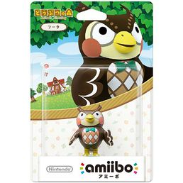 amiibo Animal Crossing Blathers Hahmo
