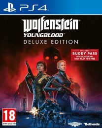 PS4 Wolfenstein Youngblood Deluxe Edition kansi