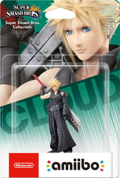 amiibo Super Smash Bros. Collection Cloud Player 2 hahmo