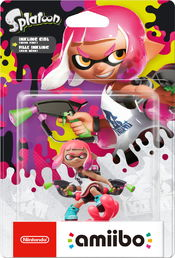 amiibo Splatoon Collection Inkling Girl 3 hahmo