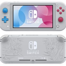 Nintendo Switch Lite Konsoli Zacian & Zamazenta Limited Edition