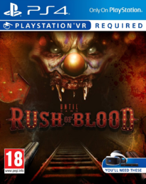 Until Dawn: Rush of Blood PS4