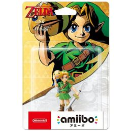 Amiibo Legend of Zelda Link Majoras Mask hahmo