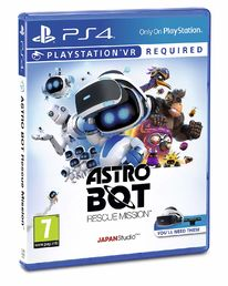 Astro Bot Rescue Mission PS4 kansikuva