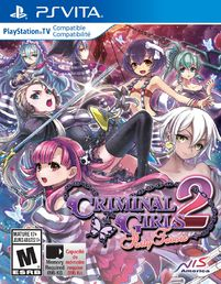 Criminal Girls 2: Party Favors PS Vita