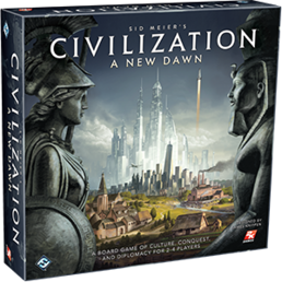 Civilization New Dawn lautapeli