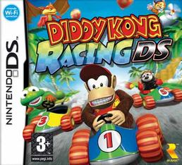 Diddy Kong Racing DS kansikuva
