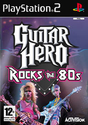 Guitar Hero 2: Rock the 80s PS2