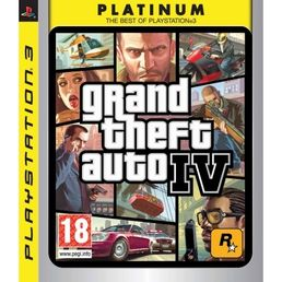 Grand Theft Auto IV (GTA 4) Platinum PS3