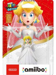 amiibo Peach (Wedding Suit) Super Mario Collection hahmo