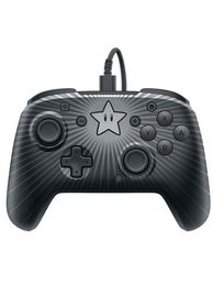 Faceoff PDP Wired Pro Controller Super Mario Star Edition (käytetty)