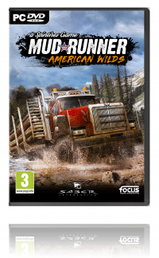 Spintires Mudrunner American Wilds Edition PC kansikuva