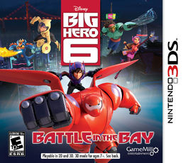 Big Hero 6 Battle In The Bay 3DS