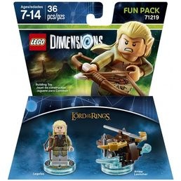 Lego Dimensions Fun Pack Lord of the Rings lisäosa