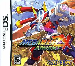 Megaman ZX Advent Nintendo DS