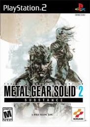 Metal Gear Solid 2 Substance PS2