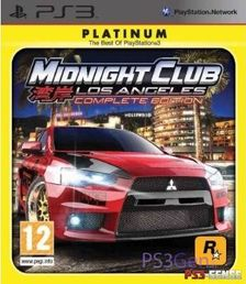 Midnight Club: Los Angeles Complete Edition Platinum PS3