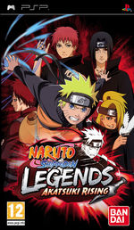 Naruto Shippuden Legends: Akatsuki Rising Essentials PSP