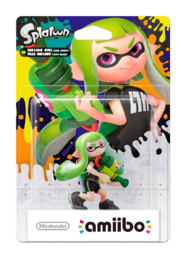 amiibo Splatoon Collection Inkling Girl 2 hahmo