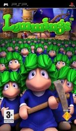 Lemmings Essentials PSP